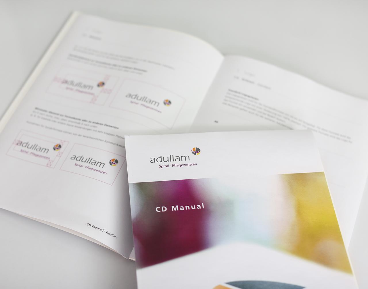 CD-Manual Adullam Spital und Pflegezentren - scanu communications