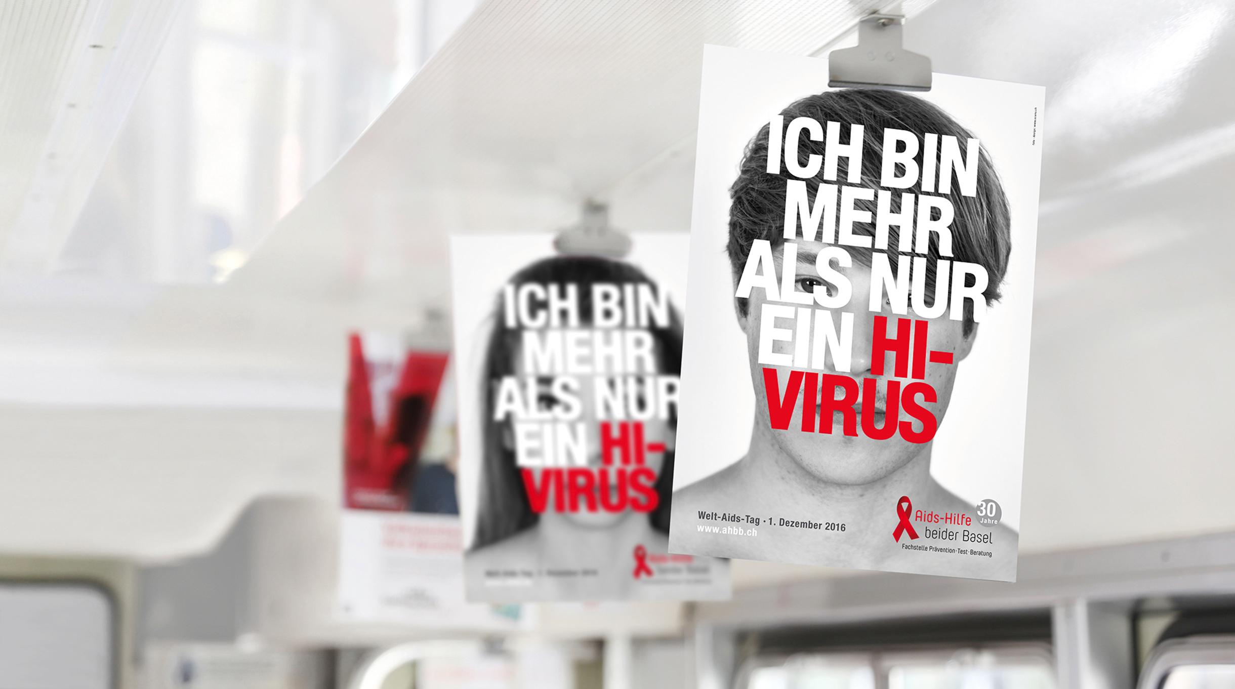 «Ich bin mehr als nur ein HI-Virus» - die Solidaritätskampagne für Aids-Hilfe beider Basel (AHbB) - scanu communications