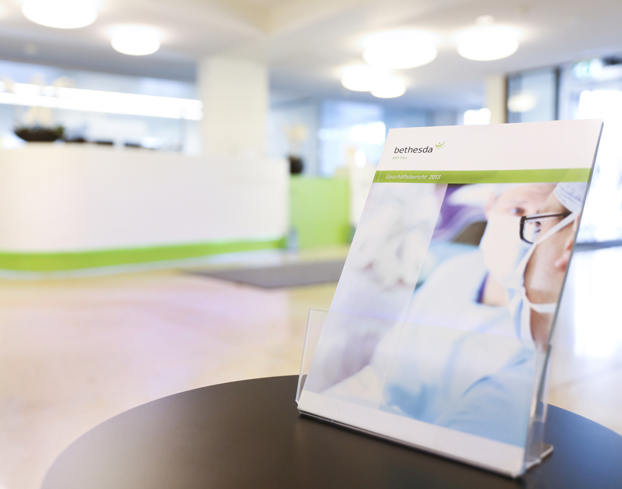 Geschäftsbericht Bethesda Spital - scanu communications