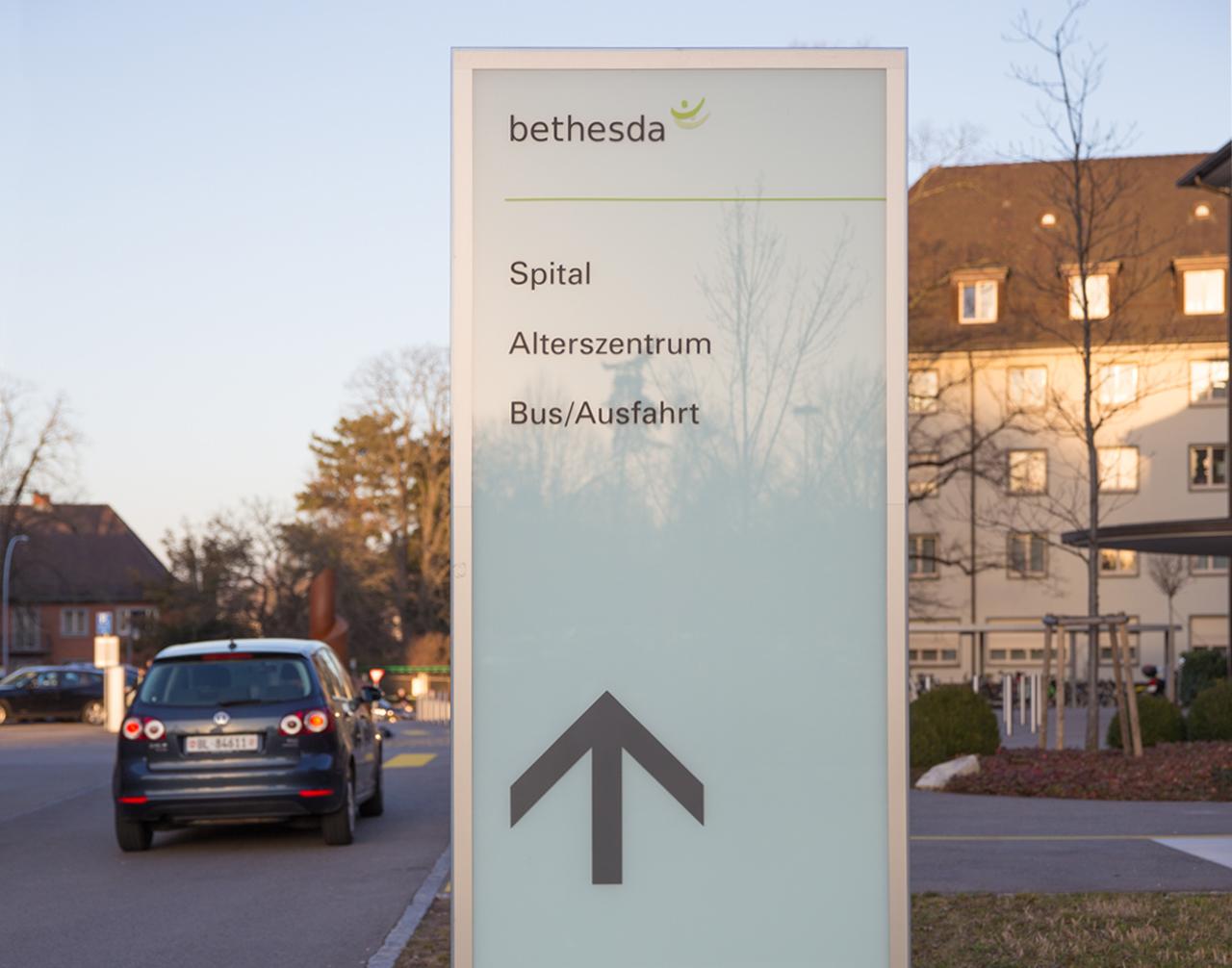 Signaletik Bethesda Spital - scanu communications